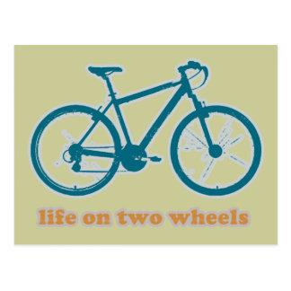 Cartão Postal bicicleta. bicicleta/ciclagem agradável
