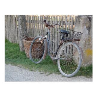 Cartão Postal Bicicleta do vintage