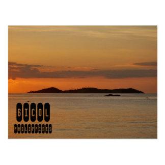 Cartão Postal Bicol em Filipinas