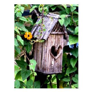 Cartão Postal Birdhouse