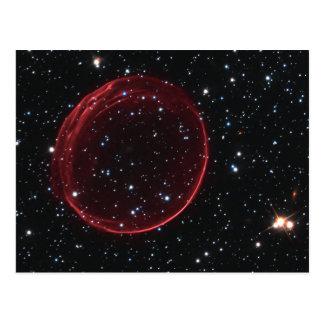 Cartão Postal Bolha do Supernova