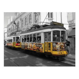Cartão Postal Bonde 28% pipe% Eletrico 28 Lisboa de Lisboa