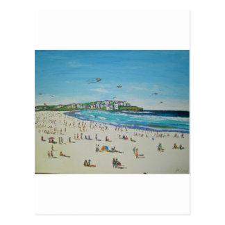 Cartão Postal Bondi Kiteflying