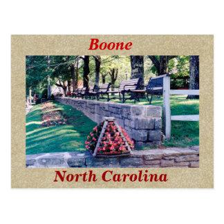 Cartão Postal Boone North Carolina