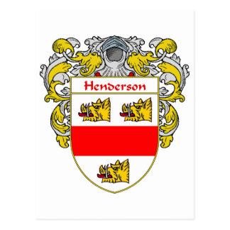 Cartão Postal Brasão de Henderson (envolvida)