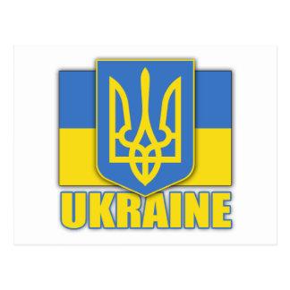 Cartão Postal Brasão de Ucrânia