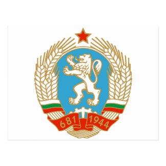 Cartão Postal Brasão do SÉNIOR Bulgária