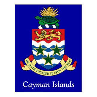 Cartão Postal Brasão dos Cayman Islands