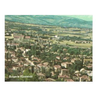 Cartão Postal Bulgária Kjustendil
