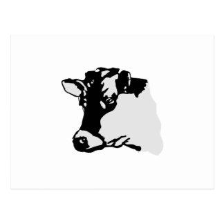 Cartão Postal Cabeça de Holstein