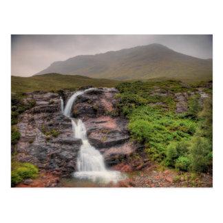Cartão Postal Cachoeiras em Glencoe