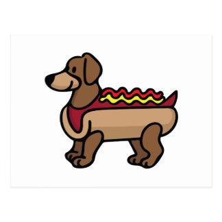 Cartão Postal Cachorro quente