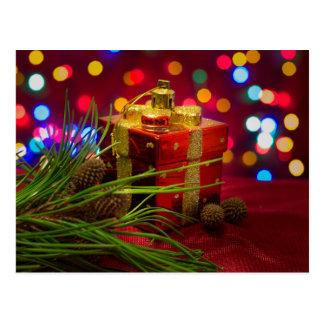 Cartão Postal Caixa dos presentes