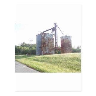 Cartão Postal Caixas do amendoim (Calvin Oklahoma)