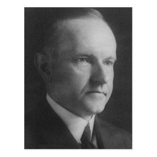 Cartão Postal Calvin Coolidge