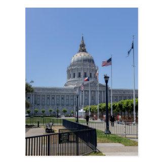 Cartão Postal Câmara municipal de San Francisco