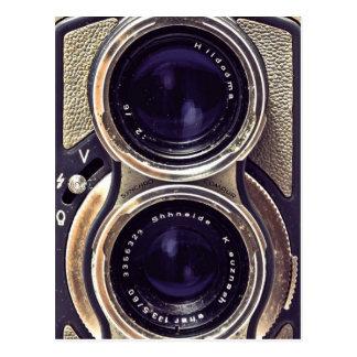 Cartão Postal Câmera antiquado