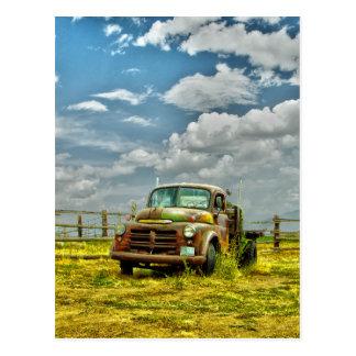Cartão Postal Caminhão velho do rancho