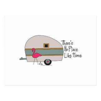 Cartão Postal Campista do flamingo