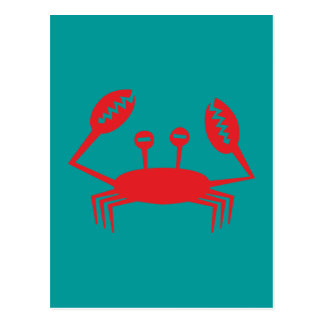 Cartão Postal Cancro crab crawfish