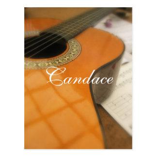 Cartão Postal Candace