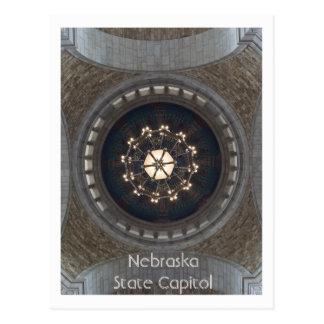 Cartão Postal Capitólio do estado de Nebraska