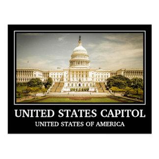 Cartão Postal Capitólio dos Estados Unidos do vintage