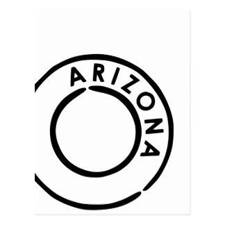 Cartão Postal Carimbo postal do estado do Grand Canyon da