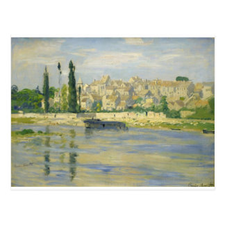 Cartão Postal Carrieres-Santo-Denis por Claude Monet