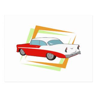 Cartão Postal Carro vintage