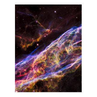 Cartão Postal Carteira do telefone do resto do Supernova da