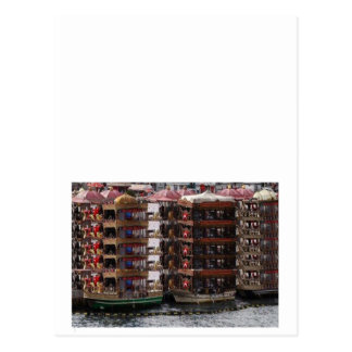 Cartão Postal Casa de barco ideal