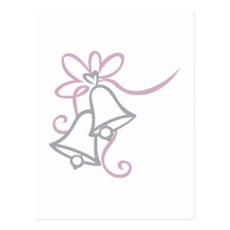 Cartão Postal Casamento Bels