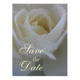 Cartão Postal Casamento cor-de-rosa do anjo