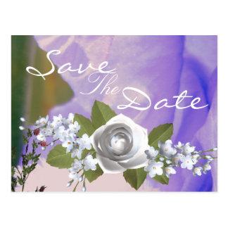 Cartão Postal Casamento ideal do verão
