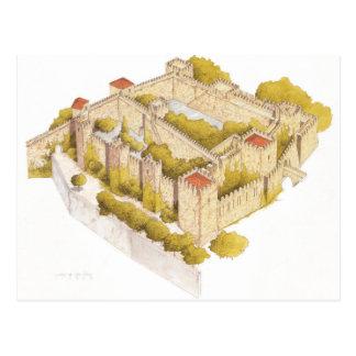 Cartão Postal Castelo de San Jorge. Lisboa Portugal