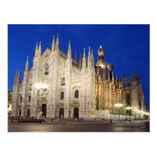 Cartão Postal Catedral em Milão