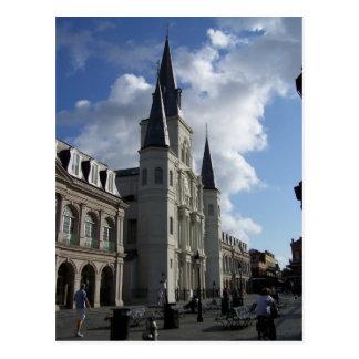 Cartão Postal Catedral Nova Orleães Louisiana do Saint Louis