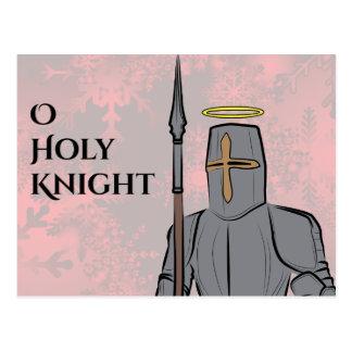 Cartão Postal Cavaleiro santamente de O