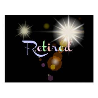 Cartão Postal Celebração da aposentadoria