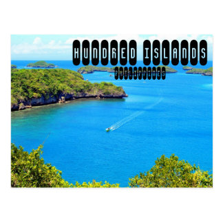 Cartão Postal Cem ilhas