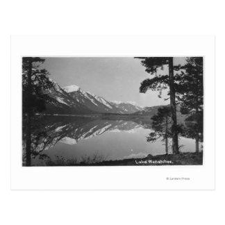 Cartão Postal Cena do lago Stillwater