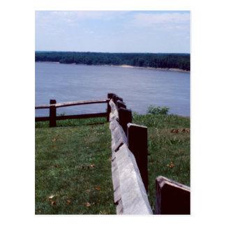 Cartão Postal Cerca sobre Mississippi