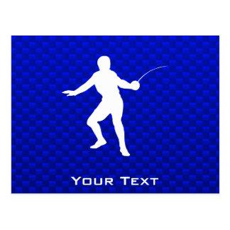 Cartão Postal Cerco azul