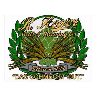 Cartão Postal Cervejaria de Heger