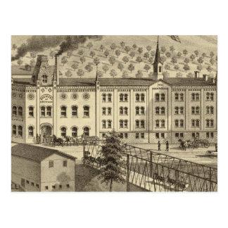 Cartão Postal Cervejaria e casa do malte de um Reymann
