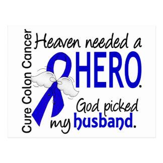 Cartão Postal Céu necessário um marido do cancro do cólon do