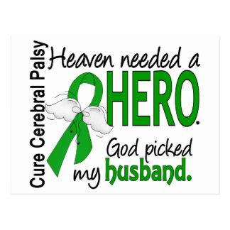 Cartão Postal Céu necessário um marido do herói PC