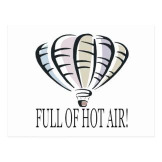 Cartão Postal Cheio do ar quente 2