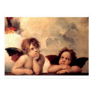 Cartão Postal Cherubim - Raphael
